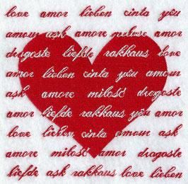International Love Silhouette