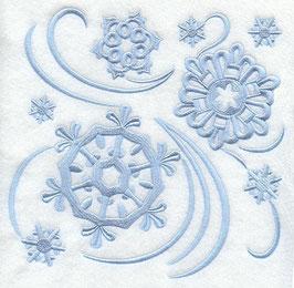 Simply Snowflakes Square