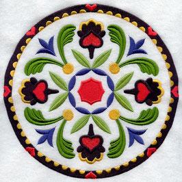 Turkish Fancy Geometric Circle