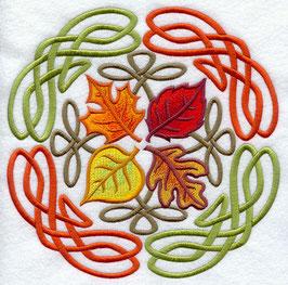 Celtic Leaves Circle