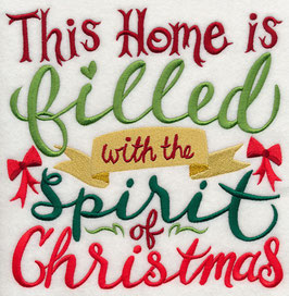 Filled with the Spirit of Christmas