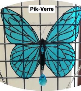 Vitrail papillon