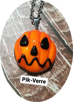 Collier Halloween Gros pendentif