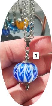 Pendentif perle de taille moyenne