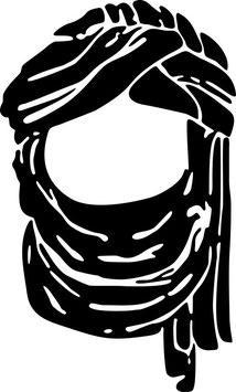 Tuareg pegatina