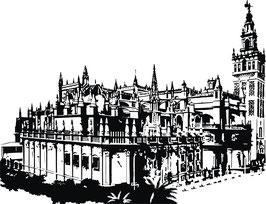 Vinilo Decorativo de la Catedral de Sevilla