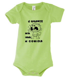 """Body bebé """"el gigante"""""""