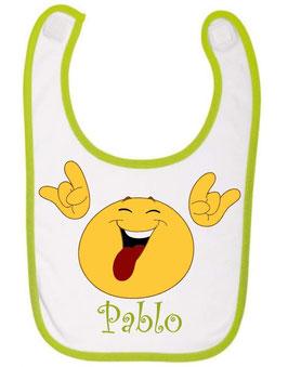 Babero Emoticono