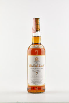 MACALLAN 7 YEARS OLD Maxxium Italia 70cl / 40%