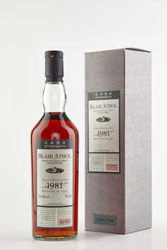 BLAIR ATHOL 1981 Flora & Fauna 16 years 70cl / 55,5% vol.