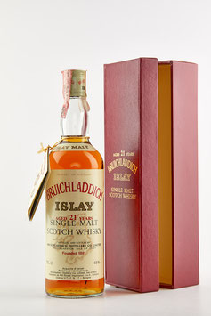 BRUICHLADDICH 21 YEARS OLD, BOTTLED 1980s, 75cl, 45%