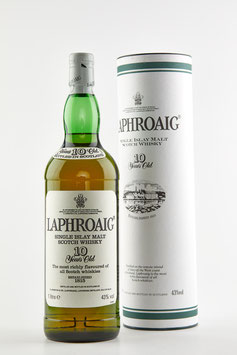 Laphroaig 10 years old bot.late 90`s 100cl 43% OB