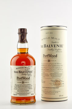 BALVENIE 21 YEARS PORT WOOD 100cl / 43%