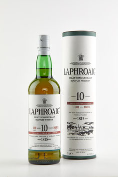 LAPHROAIG 10 Years Old Cask Strength Batch 008 Bottled 2016, 70cl / 59,2%