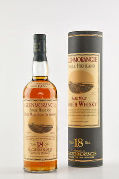 GLENMORANGIE 18 YEARS OLD - 1990s 70cl. / 43%