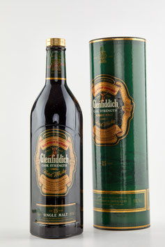 GLENFIDDICH 15 Years Bot. 90s 100cl / 51% Cask Strength