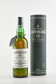 LAPHROAIG 15 Years Old 70cl / 43%