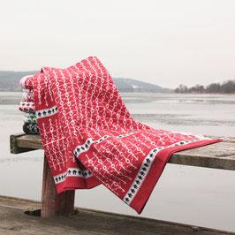 Ekshärad Rod Blanket by Ojbro Vantfabrik