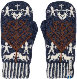 Yggdrasil Livtranad 100% Merino Wool Mittens by Öjbro