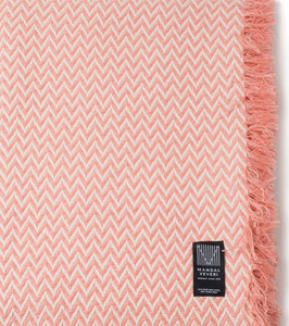 The Pink Bunad Blanket by Fram Oslo in 100% Pure New Wool