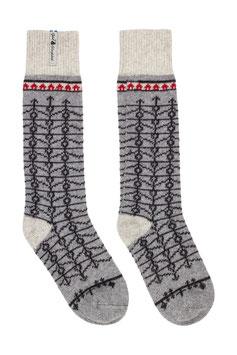 Ekshärad Grå Merino Wool Socks by Öjbro