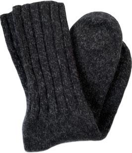 NEW!!! Dachstein HEAVY FOUR PLY Black Mele Calf Sock