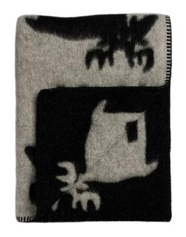 Roros Tweed Elg Elk Blanket