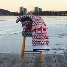 Dalarna Blanket by Ojbro Vantfabrik