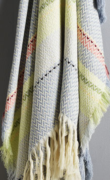 The Vest-Agder Bunad Blanket by Fram Oslo in 100% Pure New Wool