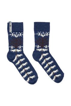 Yggdrasil Livtranad Sock in Merino Wool Blend by Öjbro