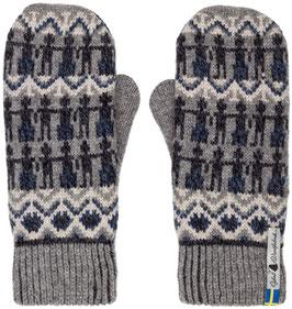 Kören Kerstin 100% Merino Wool Mittens by Öjbro