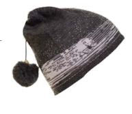 Norlender Adult Polar Bear Hat Style 261