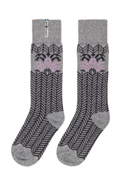 Fager Iris Merino Wool Socks by Öjbro