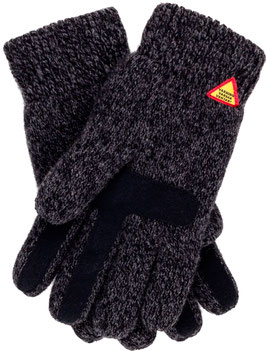 Suede Touch Karg Glove in 100% Merino Wool by Ojbro