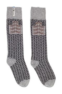 Gotland Grå Merino Wool Socks by Öjbro