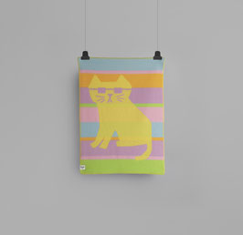 Roros Tweed Cool Cats Mini Blanket