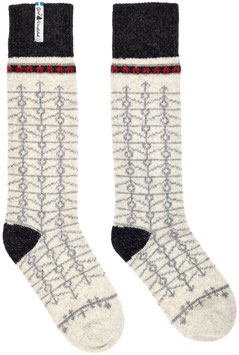 Ekshärad Kalk Merino Wool Socks by Öjbro