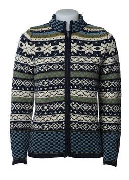 Women's 100% Wool Norwegian Brita Cardigan