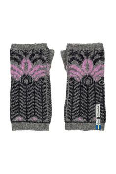 Fager Iris 100% Merino Wool Wrist Warmers by Öjbro