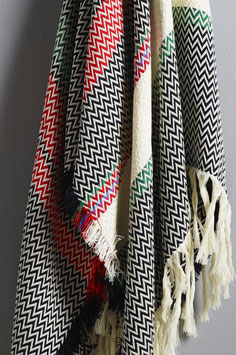 The Setesdal Bunad Blanket by Fram Oslo in 100% Pure New Wool