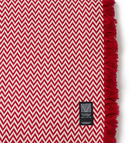 The Red Bunad Blanket by Fram Oslo in 100% Pure New Wool
