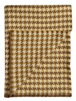 Mimi Houndstooth Blanket by Roros Tweed