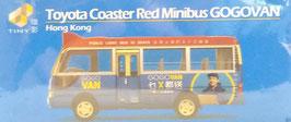 Toyota Coaster Red Minibus GOGOVAN