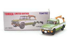 1/64 LV-188a トヨタ スタウト レッカー車(緑)
