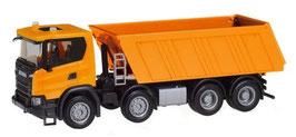 1/87 Scania CG 17 8×4 dump , communal orange