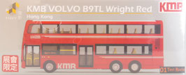KMB VOLVO B9TL Wright Red