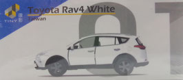 No.01 Toyota Rav4 White