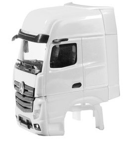 1/87 Driver's cab Mercedes-Benz Actros Gigaspace with side skirting  2 pcs.