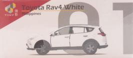 P-01 Toyota Rav4 White