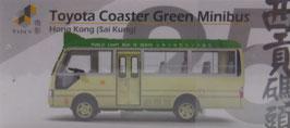 No.25 Toyota Coaster Green Minibus